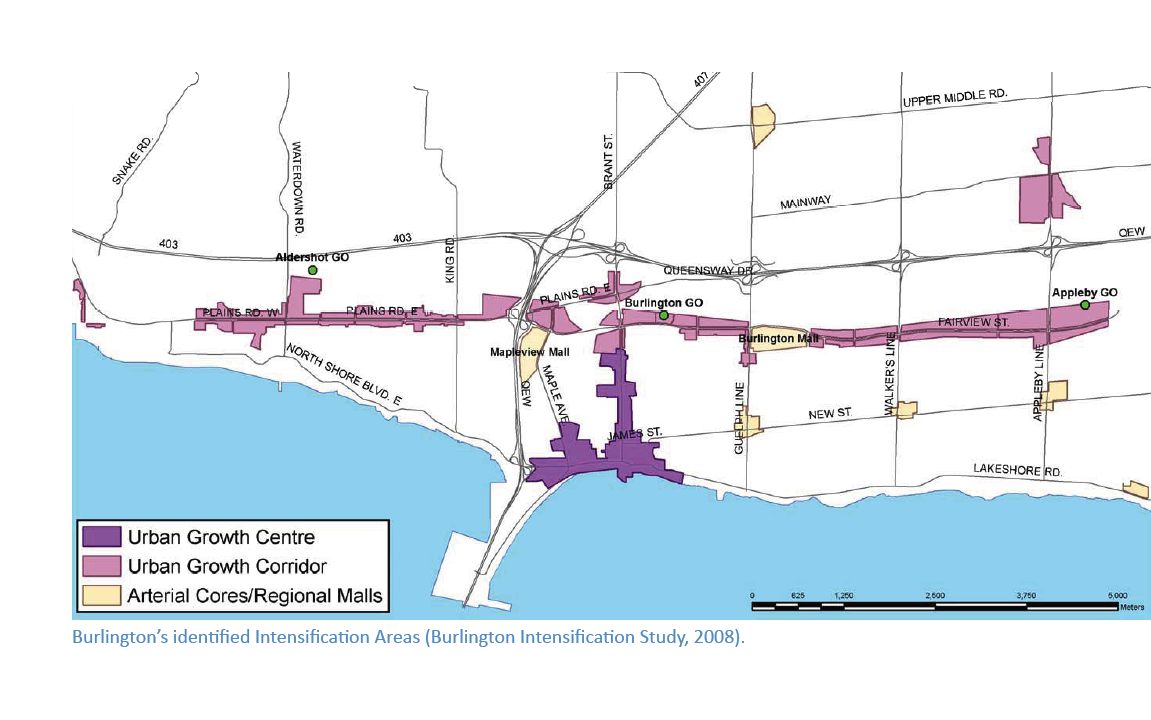 Burlington, Ontario Expansion Corridor