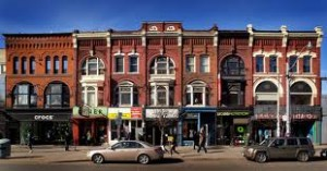Queen West Storefronts